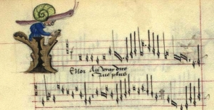 From Chansons d'Amour, France 15th Century.