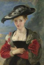 Portrait of Susanna Lunden(?) ('Le Chapeau de Paille')