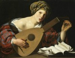 lute woman