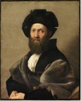 Portrait of Baldassare Castiglione (1514-1515) Raffaelo Sanzo da Urbino Musée du Louvre, Paris